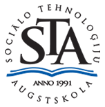 Sociālo tehnoloģiju augstskolas logo