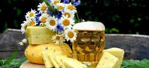siers, jāņuzāles un alus